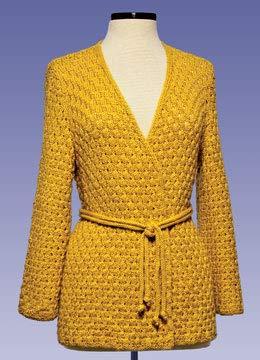(Acorn Stitch Kimono 178 Vermont Fiber Pattern)