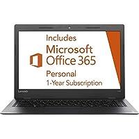 Lenovo Ideapad 14-inch Laptop PC (2016 Edition), 1-year Office 365 ($70 value), Intel Dual-Core Processor, 2GB RAM, 64GB SSD, 802.11AC WIFI, Webcam, HDMI, Windows 10, Silver