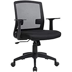 Computer Office Desk Ergonomic Mesh Midback Task Chair