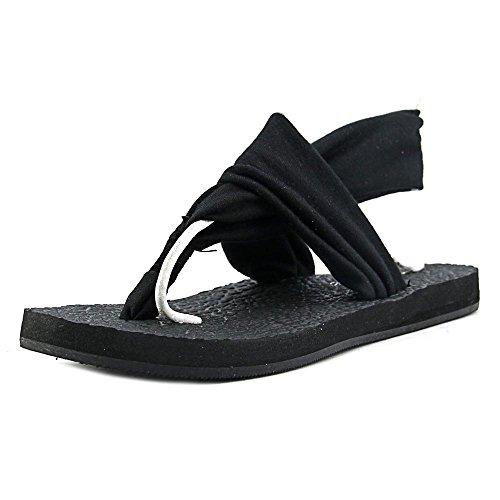 Rampage Kvinners Rebecky Sandal Sort. sko; syntetisk; importert