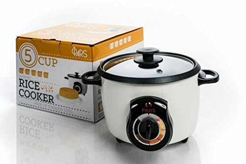 WGM PARS Automatic Persian Rice Cooker (5 Cup)