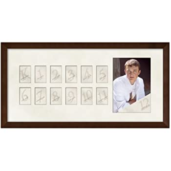 Amazon.com - School Days Years Picture Mat and Frame 10X24 - K-12 ...