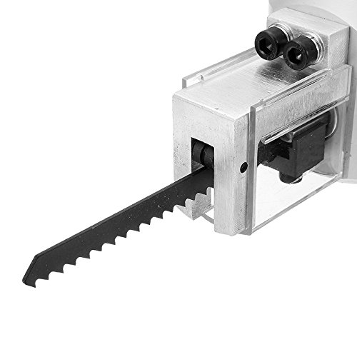 Hitommy Double Head YT-180A Wood Sheet Metal Nibbler Cutter Power Drill Attachment Holder Tool by Hitommy (Image #7)