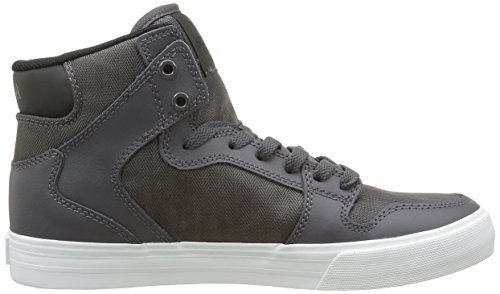 Supra Vaider Lc Sneaker Charcoal Leather