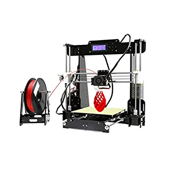 Image of 3D Printers ANET A8 3D Printer,Desktop Acrylic LCD Screen Printer 220 x 220 x 240mm Compatible with Windows XP/7/8/10, Mac, Linux