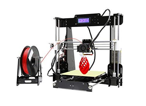 Anet A8 3D Printer,Desktop Acrylic LCD Screen Printer 220 x 220 x 240mm