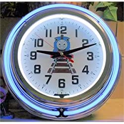 Thomas the Train Neon Clock