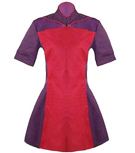 TISEA Women's Costume Star Trek TNG Skant Uniform Dress (M, (Star Trek Tng Uniform)