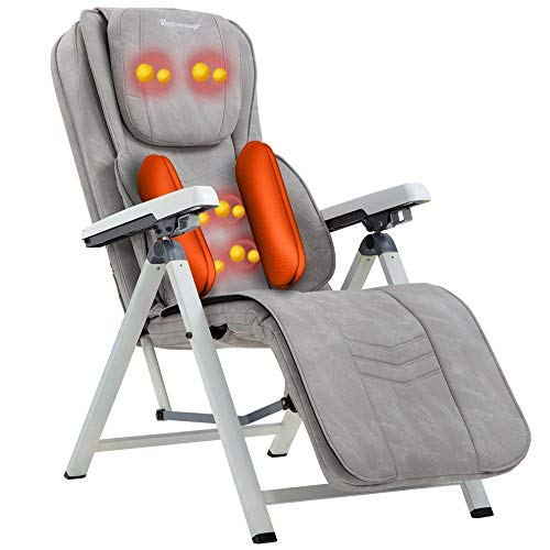 (Especially For The Elderly, Extreme Safe, Massage Chair Back Massager Kneading Heat Function Adjustable Seat)