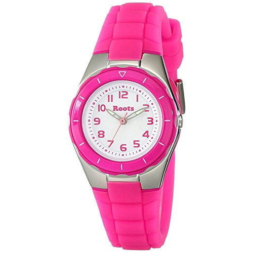 Roots Women's 1R-AT425FU1F Saturna Pink Plastic Watch from Roots