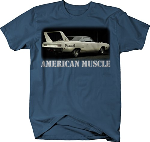 OS Gear American Muscle Plymouth Road Runner Rear Wing Muscle Car Tshirt - 3XL