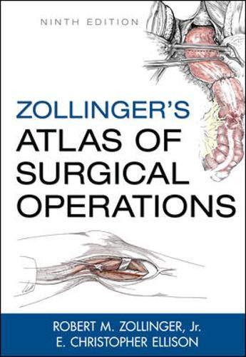 Zollinger's Atlas of Surgical Operations, 9th Edition