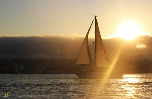 San Diego Sailing Tours Gift Card - 2 hour Sunset Sailing - Diego San Stores Downtown