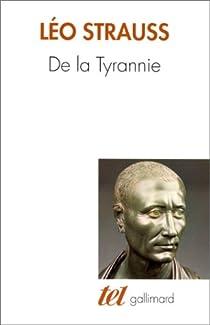 De la tyrannie par Strauss