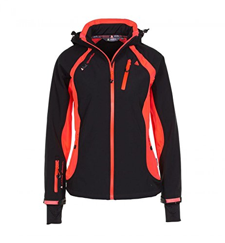Noir ks Avybo Femme orange Blouson Peak Mountain FPxqX