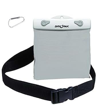 "DRY PAK DP-65W White/Gray 6"" x 5"" Waterproof Belt Pack"