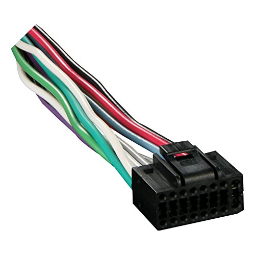 16 Pin Universal Wiring Harness (Absolute KN16-KN16 Kenwood 16-Pin Universal Harness)