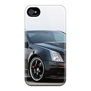 For HTC One M7 Case Covers - Slim Fit Hard shell Protector Shock Absorbent Cases (cadillac Cts V)