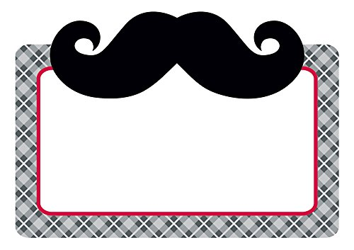 Creative Teaching Press Mustache Style Labels (4550)