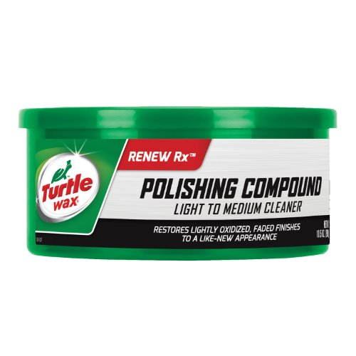 Turtle Wax T-241A Polishing Compound & Scratch Remover - 10.5 oz. (Best Car Wax For Faded Paint)