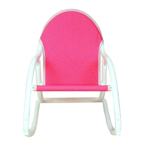 Hoohobbers Rocking Chair, Pink Canvas (Discontinued by Manufacturer)