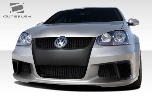 Duraflex ED-PGL-635 R-GT Wide Body Front Bumper Cover - 3 Piece Body Kit - Compatible For Volkswagen Jetta 2005-2010
