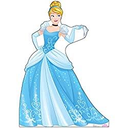 Advanced Graphics Cinderella Life Size Cardboard Cutout Standup - Disney Princess Friendship Adventures