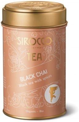SWISS SIROCCO BLACK TEA with spices loose tea tin BLACK CHAI スイス シロッコ 紅茶 茶缶 ブラックチャイ スパイスブレンド 130g 【正規輸入品】