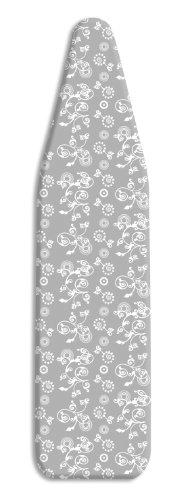 Whitmor 6926-100 Scorch Resistant Ironing Board Cover and Pad, Berry Blue