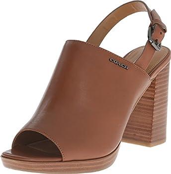 COACH Brady Saddle Women's Sandal