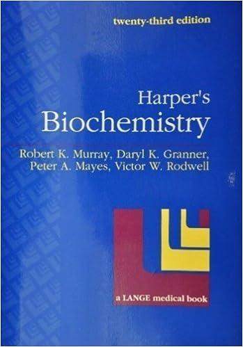 Biochemistry Book By Harper