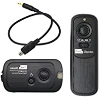 Pixel RW-221 DC2 Wireless Remote Shutter Release for Nikon D3100, D3200, D3300, D5000, D5100, D5200, D5300, D5500, D90,D7000 ,D7100,D7200,D600,D610,D750,Df