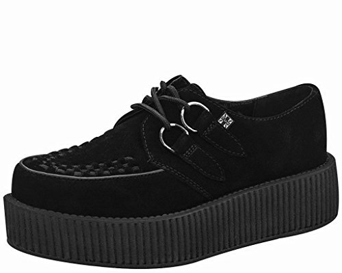 T.U.K. Unisex V7757 Creeper Oxford,Black,9 M US (Tuk Shoes Online)