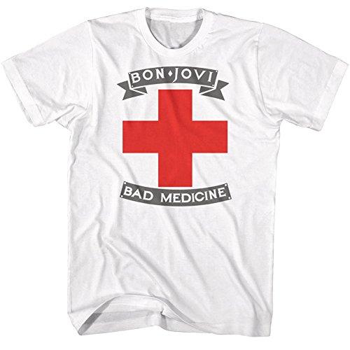 Badmed De Classics Jovi Pour Rock Groupe Bon Homme American shirt Tee w6YqBfY