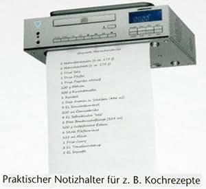 Medion 83963 - Radio de cocina con reproductor de CD, plateado [Importado]
