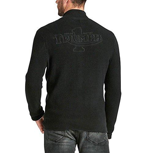 Lucky Brand - Men's - Triumph Motorcycle Logo Full Zip Sweater Jacket ()