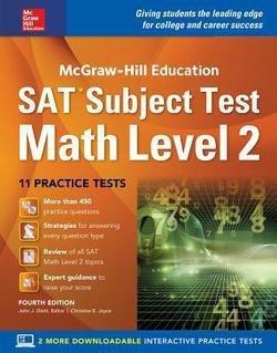 John J. Diehl: McGraw-Hill Education SAT Subject Test Math Level 2, Fourth Edition (Paperback); 2016 Edition