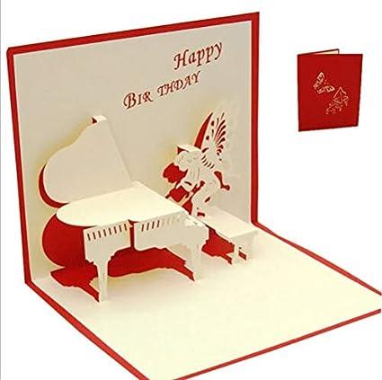 Amazon ForShop 3D Pop Up Cards Valentine Lover Happy Birthday
