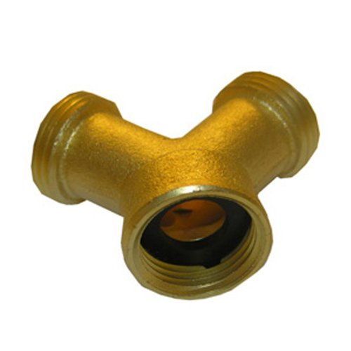 LASCO 15-1731 BRASS HOSE WYE, 1 Pack