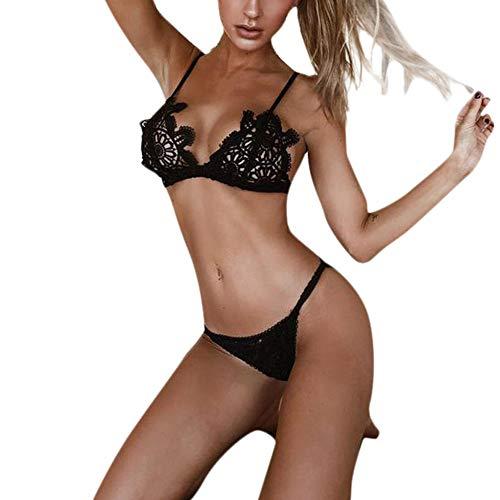 Impostato Sexy Donne Intima Shapewear Styledresser Pizzo Donna Biancheria Slip Fionda Prospettiva Veste Nero XaPxxgnwq