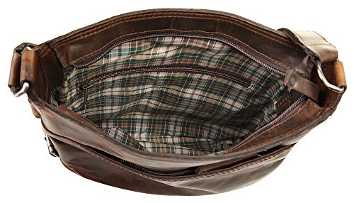 Cm Harold's 24 Cuir Brun Saddle Bandoulière Sac rXTX17qvn