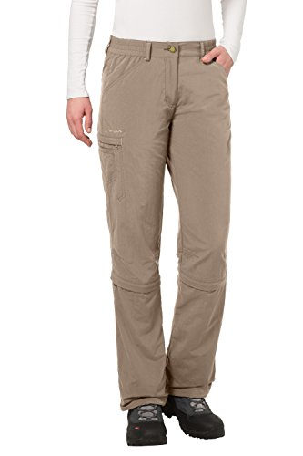 Pantaloni Donna VAUDE tarn Verde Capri convertibili UYW46