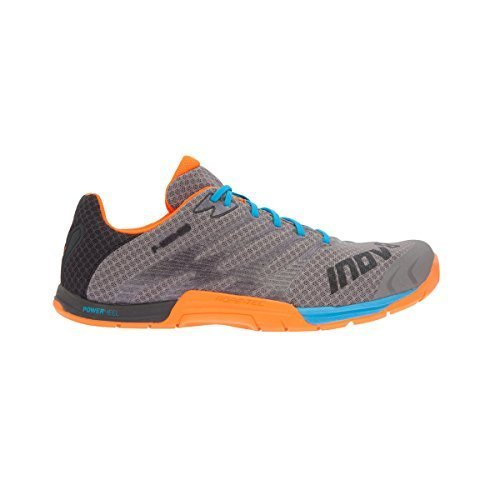 Inov-8 2016 Men's F-Lite 235 Training Shoe - Grey/Blue/Orange - 5054167441 (Grey/Blue/Orange - M 14/W 15.5)