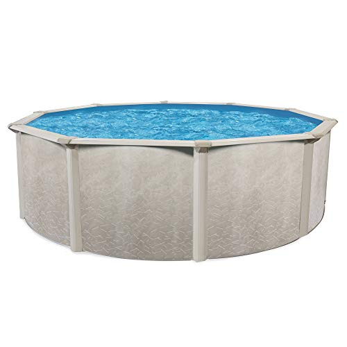 "Cornelius Pools Phoenix 24' x 52"" Round Steel Frame Above Ground Swimming Pool"