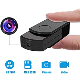 Spy Camera Hidden Mini Camera, Hidden Spy Camera with 32GB SD Card