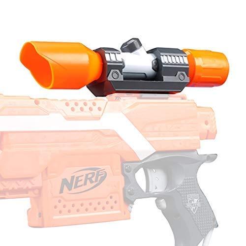 URUNIQ Gun Sight for Nerf,Scope for Nerf Gun Targeting Light Beam Accessory