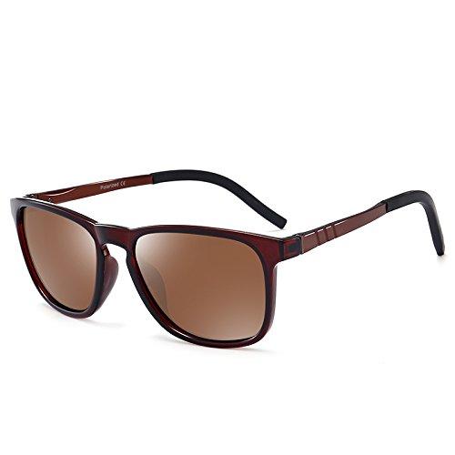 impulsando Tan pesca gafas gafas hombre negro brillante macho pionero polariscope KOMNY Gafas la conductor q51wOW