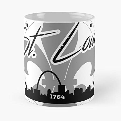 (Stl City Rough Older - Funny Sophisticated Design Great Gifts -11 Oz Coffee Mug.the Best Gift For)