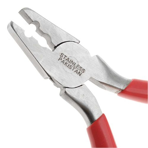 Fold Over Crimping Pliers For Leather & Suede Findings (Fold Over Crimp)