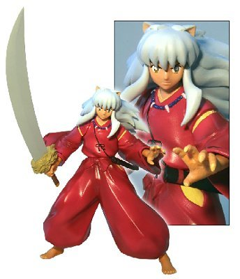 Amazon Com Inuyasha Series 1 Inuyasha Action Figure Toynami With